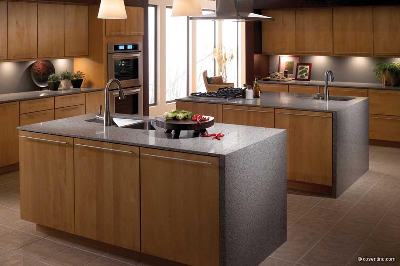 Küchenarbeitsplatten von Valente aus hochwertigem Stein von Cosentino